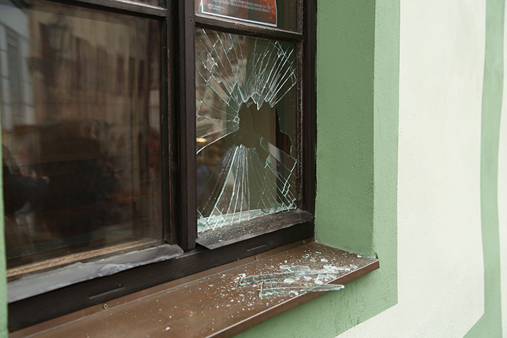 A2B Glass are able to board up broken windows while they are being repaired in Croydon.